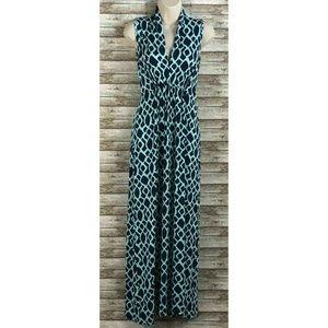 Vfish Womens Full Length Long Sleeveless Dress S